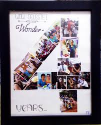 4 year anniversary gift for him diy 4 years anniversary photo collage my diy handcrafts
