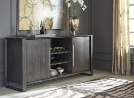 Dining Room Server Furniture Chadoni Gray Dining Room Server D624 60 Servers Dunlop