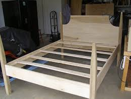 a new four poster bed frame for my main squeeze by gnarlyerik