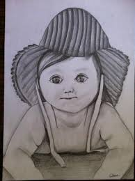 cheena kaushal cute baby buy pencil sketch drawings pencils