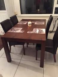 beautiful light oak table and 4 chairs brown chairs in four