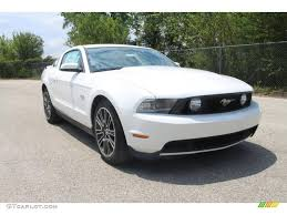 2011 Ford Mustang Black 2011 Performance White Ford Mustang Gt Premium Coupe 35551973