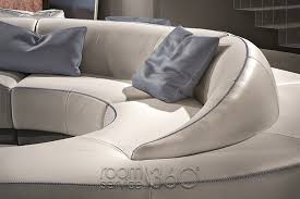 wave curved sectional sofa by gamma arredamenti room service 360