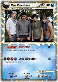 one direction cards pokémon one direction 5 5 awsome my card