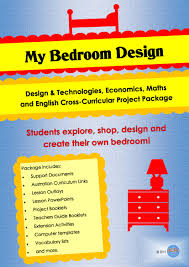 Design A Bedroom Template Cross Curricular My Bedroom Design Project Unit Of Work Combining