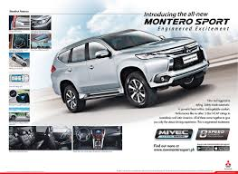 mitsubishi montero 2016 the all new montero sport mitsubishi motors philippines corporation