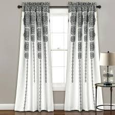 Gray Blackout Curtains Black And Gray Curtains Yellow Gray Blackout Curtains 108