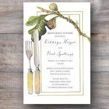 rehearsal dinner invites fig fork farm to table wedding rehearsal dinner invitations