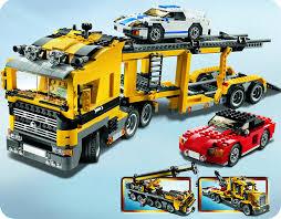 camion porta auto lego creator 6753 camion per trasporto auto it giochi e