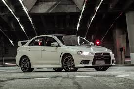 mitsubishi lancer 2017 black so long evo mitsubishi reveals details of final edition model