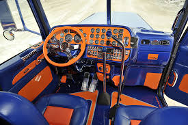 peterbilt 389 interior lights peterbilt custom 389 interior inside semi insane pinterest