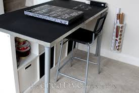 Ikea Craft Table by The Creative Imperative Craft Room Desk With Shelves
