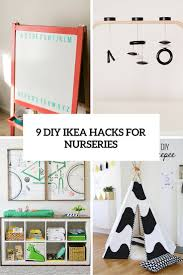 ikea hacking 9 totally charming diy ikea hacks for a nursery shelterness