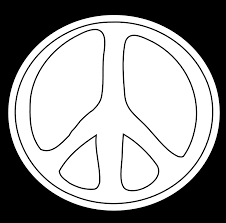 peace sign printable coloring pages 717 free printable coloring