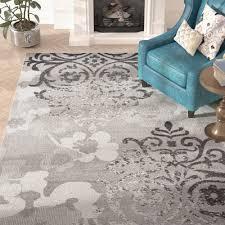 ales light grey purple area rug u0026 reviews birch lane