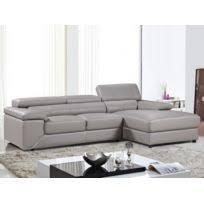 canapé d angle en cuir gris canape angle cuir gris achat canape angle cuir gris pas cher rue
