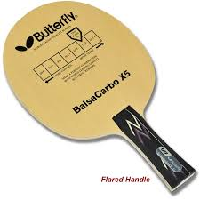 butterfly table tennis paddles shop butterfly balsa carbo x5 table tennis blade online