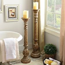 Pillar Designs For Home Interiors by Best 20 Floor Candle Holders Ideas On Pinterest Tall Candle