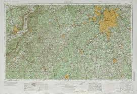 Atlanta Maps by Atlanta Topographic Maps Ga Al Usgs Topo Quad 33084a1 At 1