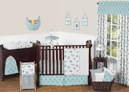 the right on mom vegan mom blog aqua baby room bedding and