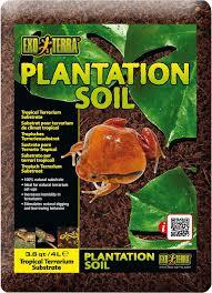exo terra plantation soil tropical terrarium reptile substrate