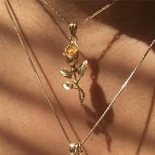 rose pendant necklace gold images 76 best jewelry images jewelry accessories body jpg