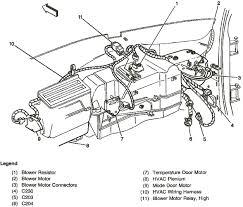 ac blower resistor motor wire harness blower motor resistor