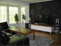 room interior design ideas modern living room interior design soft living room tv with floral wallpaper trend decoration living room wallpaper ideas