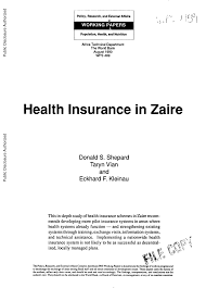 cr it mutuel si e social health insurance in zaire pdf available