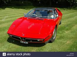 red maserati sedan red maserati bora 1970 sports car stock photo royalty free image