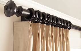 Chunky Wooden Curtain Poles And Fluted Wood Curtain Poles With Regard To Wood Curtain Rod