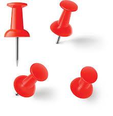 Pushpins Push Pins Clip Art Vector Images U0026 Illustrations Istock