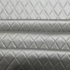 Distressed Leather Upholstery Fabric Faux Leather Luxury Diamond Stitch Upholstery Embossed Effect