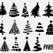 purple christmas tree background graphics 123freevectors
