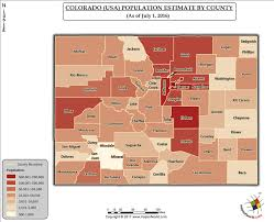 map of colorado by population what is the population of colorado answers