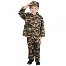 Army Halloween Costumes Girls Kids Girls Army Brat Military Halloween Costume Small Product