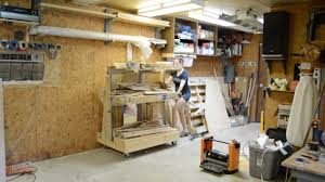 Mobile Lumber Storage Rack Plans by Diy Rolling Lumber Rack Wilker Do U0027s