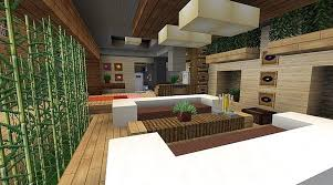 minecraft modern living room home design