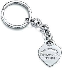 sterling key rings images Kaminorth shop tiffany amp co tiffany rtt heart plate key ring jpg