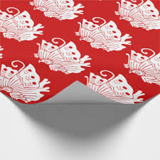 asian wrapping paper japanese geisha wrapping paper zazzle