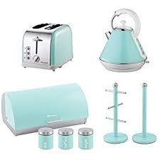 Kettle Toaster Offers Signature Kettle Toaster And Microwave Kitchen Set Baby Blue