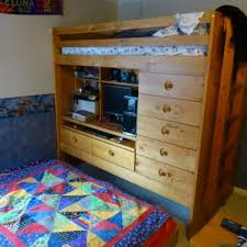 Bunk Beds With Dresser Bunk Bed With Dresser Best Multifunctional Design Two Tiers