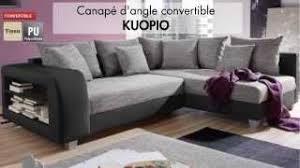 avis vente unique canapé canapé d angle tissu convertible kuopio vente unique com