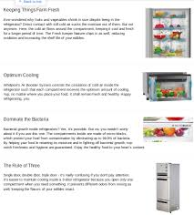 Whirlpool French Door Refrigerator Price In India - what brand of refrigerator is good to get in india quora