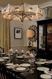 elegant chandeliers dining room divine chandelier for small room showcasing brass arched frames