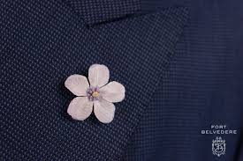 boutonniere pins light lavendar geranium silk boutonniere lapel pin flower fort
