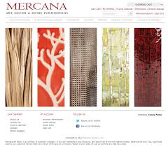 Decorative Home Furnishings Mercana Art Decor U0026 Home Furnishings Seattle Freelance Web