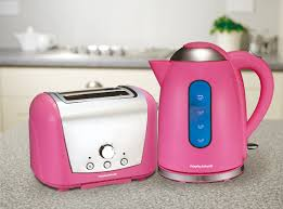 Morphy Richards Toasters And Kettles Win Limited Edition Morphy Richards Pink Kettle And Toaster Set