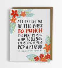 card for sick person she was sick and tired of cliché empathy cards solution