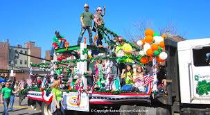 boston event calendar march 2018 st patricks parade flower show